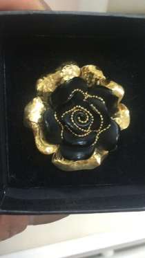 Золотое кольцо от Roberto Bravo, в Москве