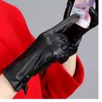Женские кожаные сенсорные перчатки, в Новосибирске