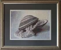 Картина «Очарование жемчуга»,ручная работа, вышивка, в г.Минск
