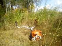 Покос травы, кустарников, спил деревьев, корчевание, в Брянске