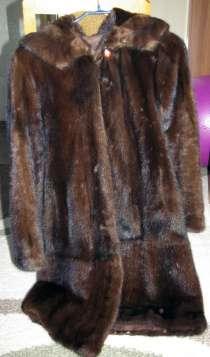 Женская норковая шуба из Греции, в Челябинске