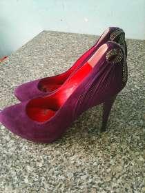 Туфли сливового цвета модельные, в г.Петропавловск