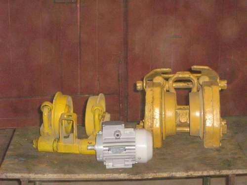 тельфера гп-0,5-5тн,кран-балки, насосы.