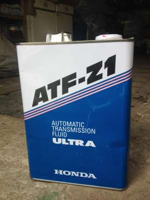 ATF Z1 для АКПП а/м HONDA, в металлической банке, 4 л, банка