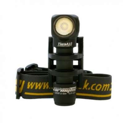 Налобный фонарь Armytek Tiara A1 Pro (Белый диод XM-L2)