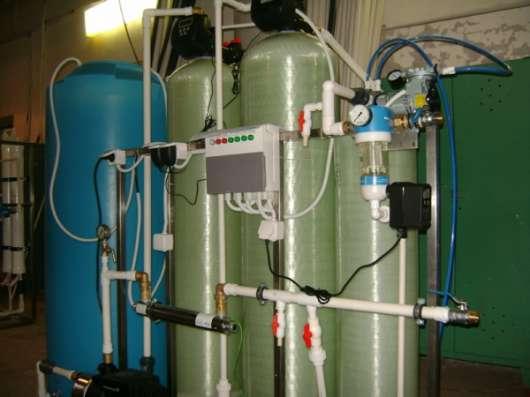 Установка очистки воды Сокол производительностью от 100 до 10000 литров/час