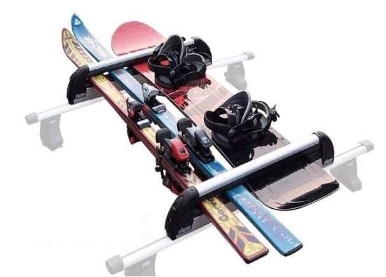 Прокат, аренда багажника для лыж и сноуборда