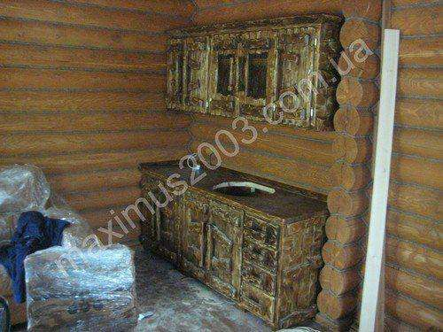 Мебель искусственного старения из дерева в Екатеринбурге Фото 4