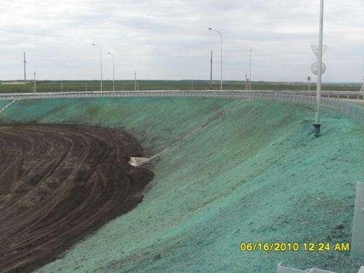 Создание газона методом гидропосева в Ростове-на-Дону Фото 1