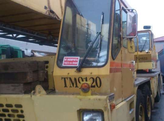 Продам автокран 110 тонн;1996 г/в