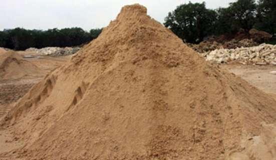 Карьерный строительный песок. Доставка