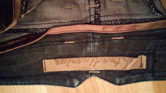 Юбка джинсовая темно-серая Stradivarius