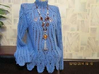 Ажурный блузон