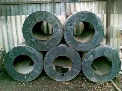 Кранцы отбойные резиновые для причала в г. Южно-Сахалинск Фото 1
