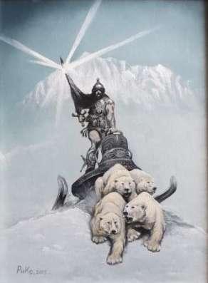 Снежный рыцарь в Москве Фото 2