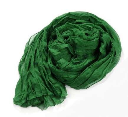 Зелёный шарф - жатка