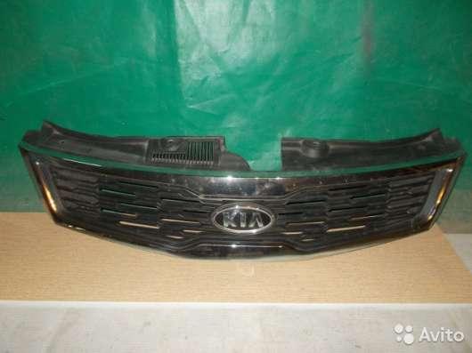 Решетка радиатора на Kia Sorento