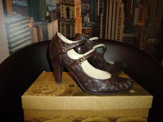 Туфли коричневые натурал. кожа р.35-36 в Новосибирске Фото 2