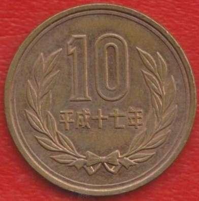Япония 10 иен 2009 г.