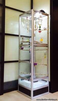 Клетки - вольеры для птиц в Москве Фото 4