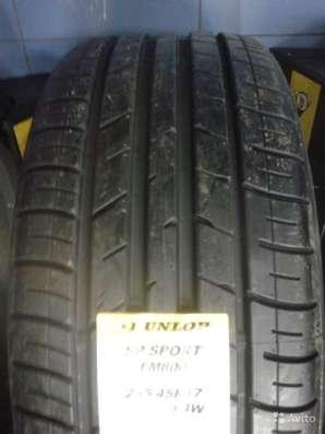 Новые комплекты Dunlop 215/45 R17 SP Sport FM800 в Москве Фото 1