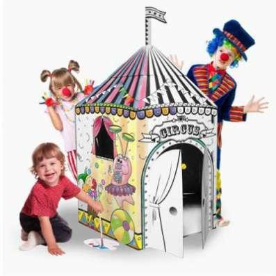 Картонный домик 10589 Цирк