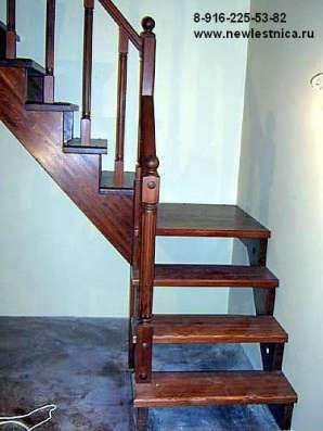Лестницы деревянные из массива Новая Лестница