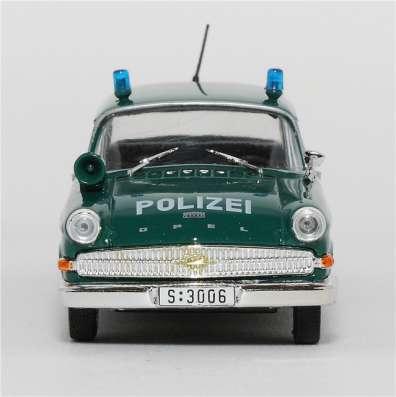 полицейские машины мира №6 OPEL KAPITAN 1960