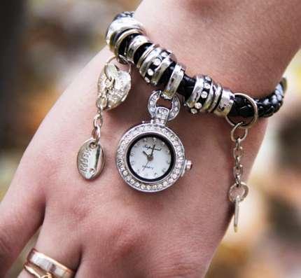 Роскошные часы-браслет Pandora в Москве Фото 3