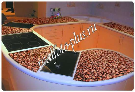 Фотоплитка для кухни (фартуки для кухни) в Йошкар-Оле Фото 1