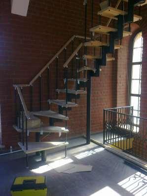 Лестницы модульные в Ижевске Фото 1