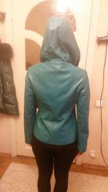 Новая кожаная куртка в Москве Фото 1