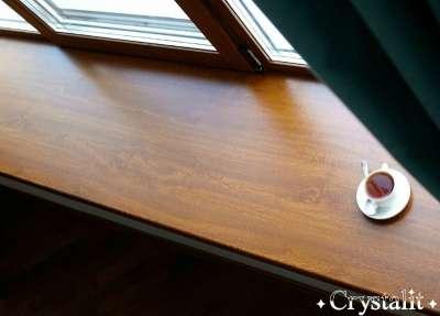 Подоконники премиум класса Кристалит Мир Окон Чебоксары