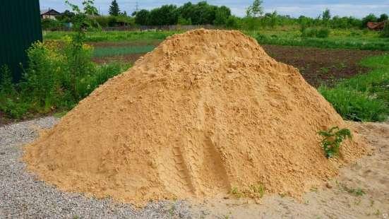 Песок карьерный(Строительный) с доставкой