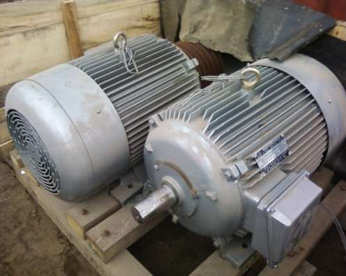 Электродвигатели общепромышленные, крановые в наличии