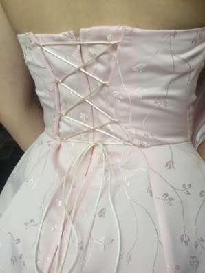 """Бальное платье """"Нежная роза"""""""