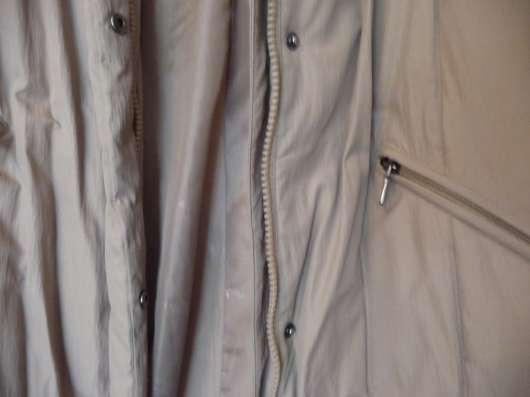 Пуховик редкой длины (130 см) и плотный, р-46(48)