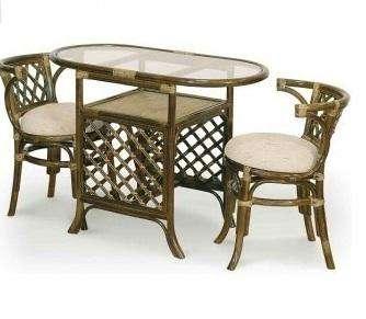 Мебель плетеная из натурального ротанга комплект 03.03
