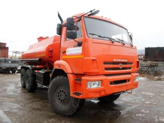 Топливозаправщик АТЗ-10 на шасси КАМАЗ 43118