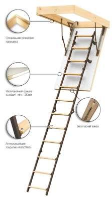Чердачные лестницы FAKRO в Екатеринбурге Фото 1