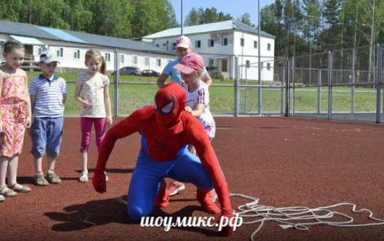 Человек паук,школа супер героев!