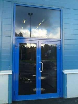 Двери алюминиевые в Сочи Фото 1