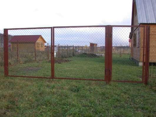 Садовые ворота и калитки. Доставка бесплатно