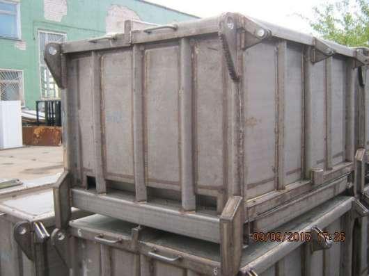 Контейнер из н/ж стали, с хранения