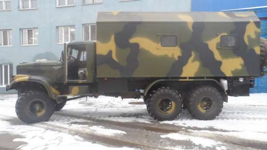 Дом на колёсах вездеход КРАЗ