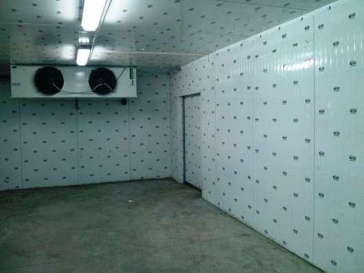 Морозильные камеры сборные для продуктов в Крыму. Установка