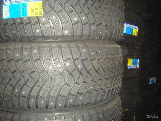 Новые шипы Michelin 235 55 R17 X-ICE North 2 XL в Москве Фото 2