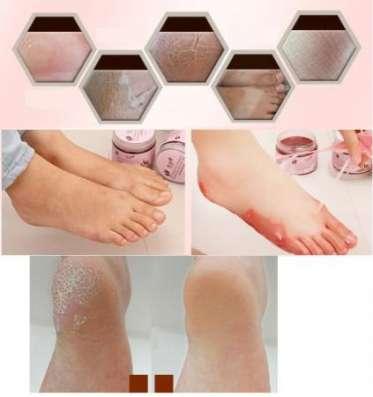 Маска для ног с пчелиным воском и маслом косточек винограда