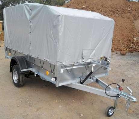 Автомобильный прицеп Трейлер 3,2х1,4м для перевозки снегохода, квадроцикла