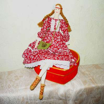 Кукла Тильда Варвара в Ростове-на-Дону Фото 4